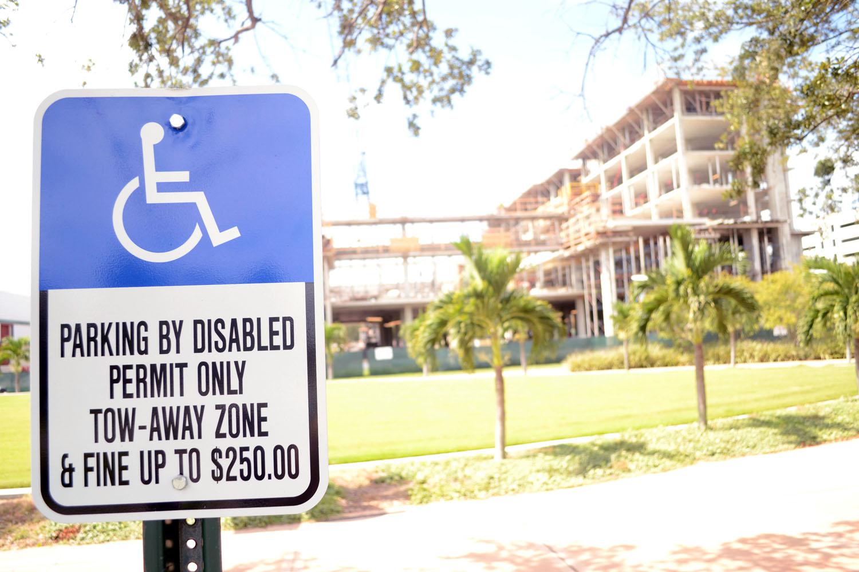 1. Teaser handicapped parking