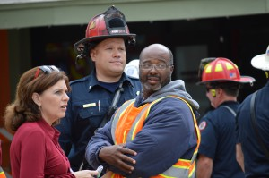 Dwight Wilson is the assistant director of Water Resources for the City of St. Petersburg. He was part of the crew that tried repairing the water main leak before it opened a hole in Seventh Street and devastated a nearby Central Avenue strip mall.  Courtesy of Ian MacCallum