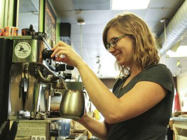 Cassie Monard at Community Cafe