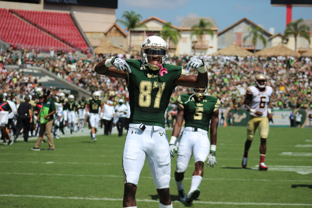 Record Receiver: Senior wide receiver Rodney Adams set a school record with 822 receiving yards in 2015. This year, he tied that same record. He will be attending the 2017 NFL Combine. Alyssa Coburn | The Crow's Nest