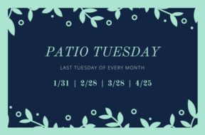 Patio Tuesday