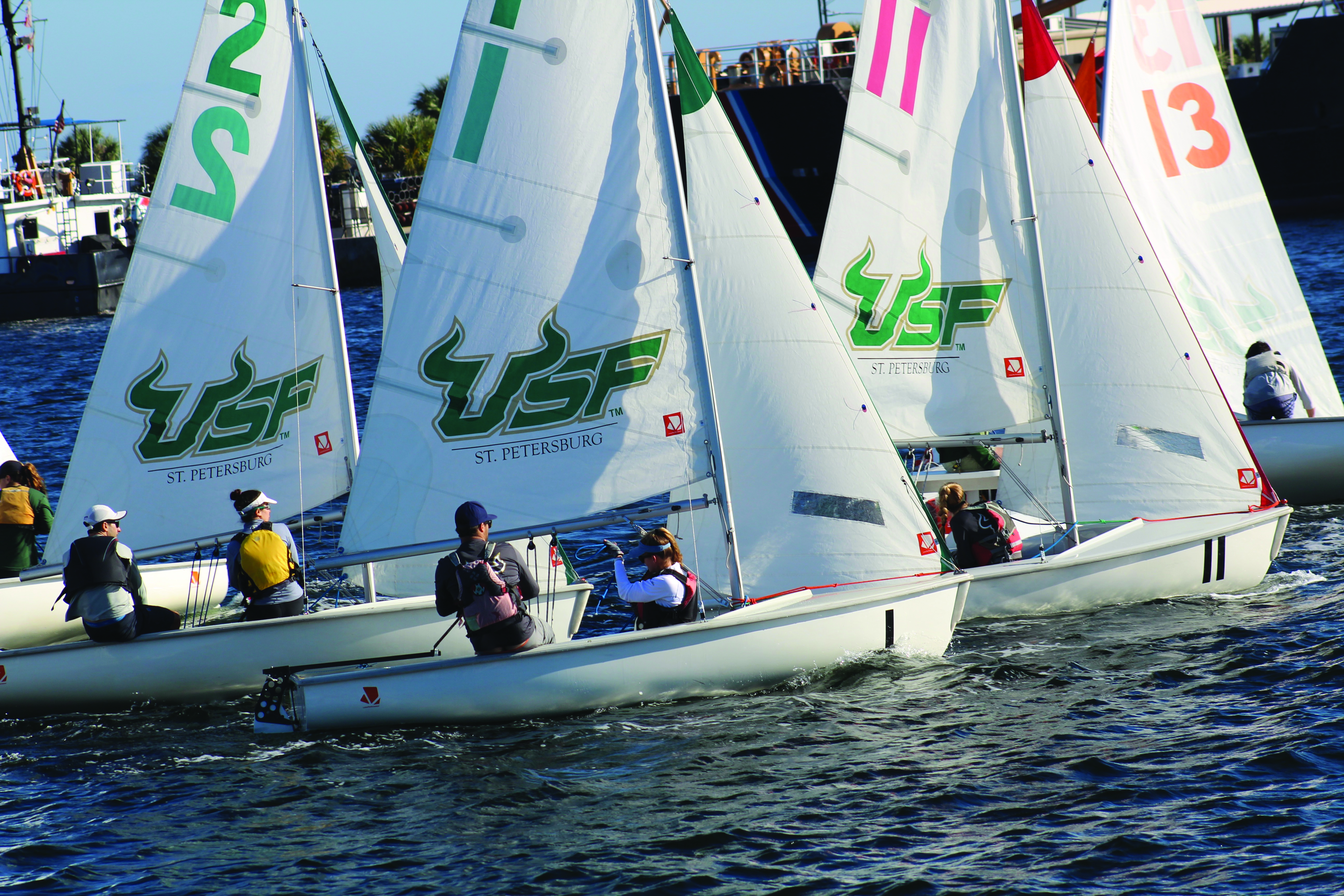 Sailing students take Kennedy Cup from Navy