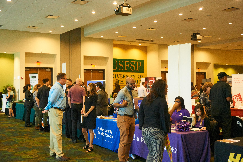 Careers kickstarted at Job & Internship Fair