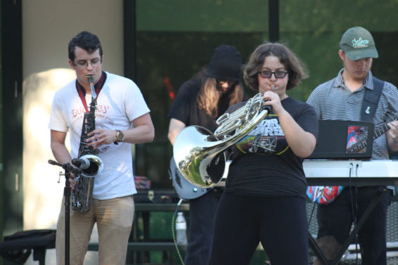 Room to Practice: Last week's Music After Dark event highlighted the need for USFSP to incorporate space for musicians to practice. Emily Bowers | The Crow's Nest