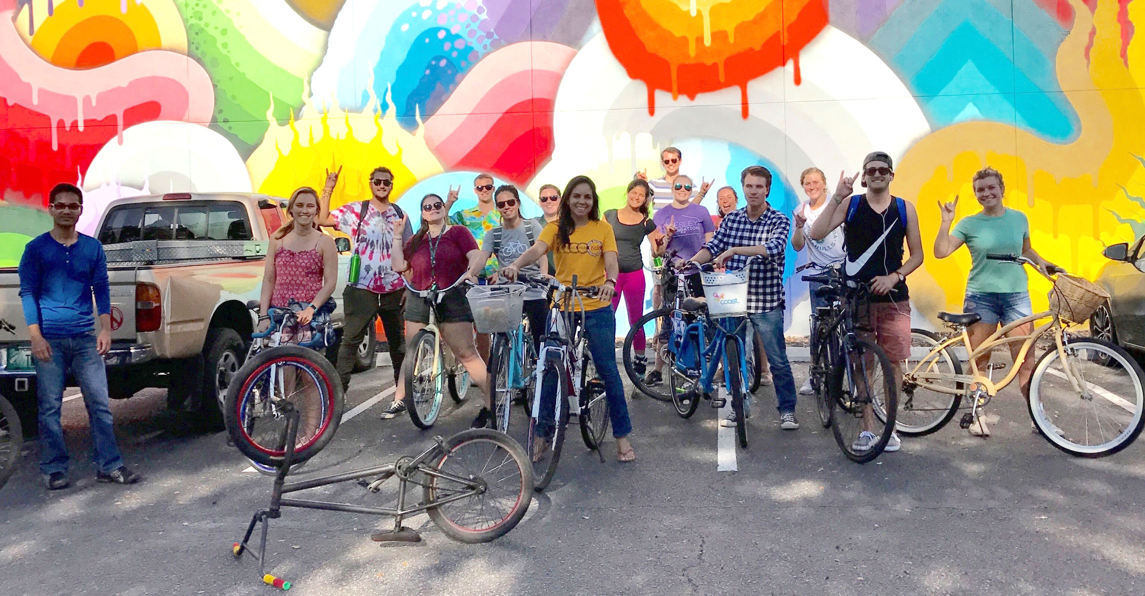 Students cycle into gear for Bike Week