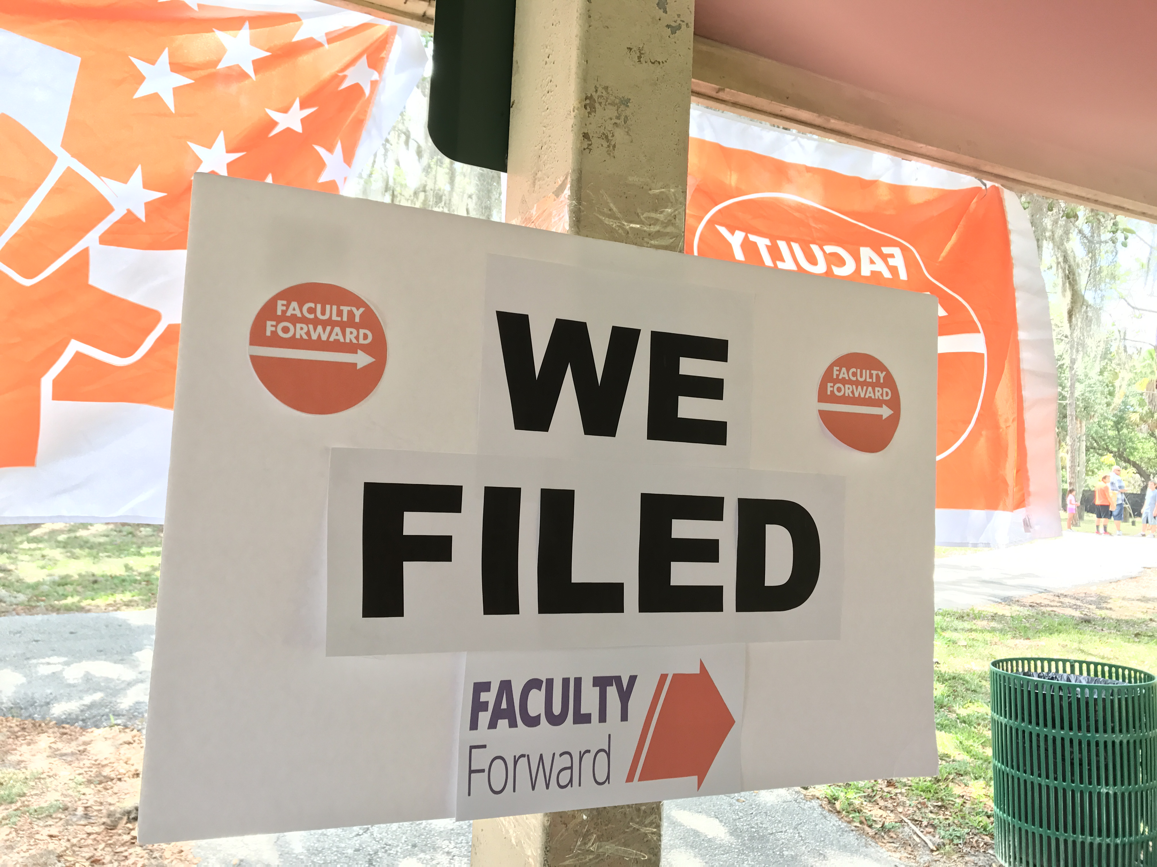 Part-time professors take first step to form union