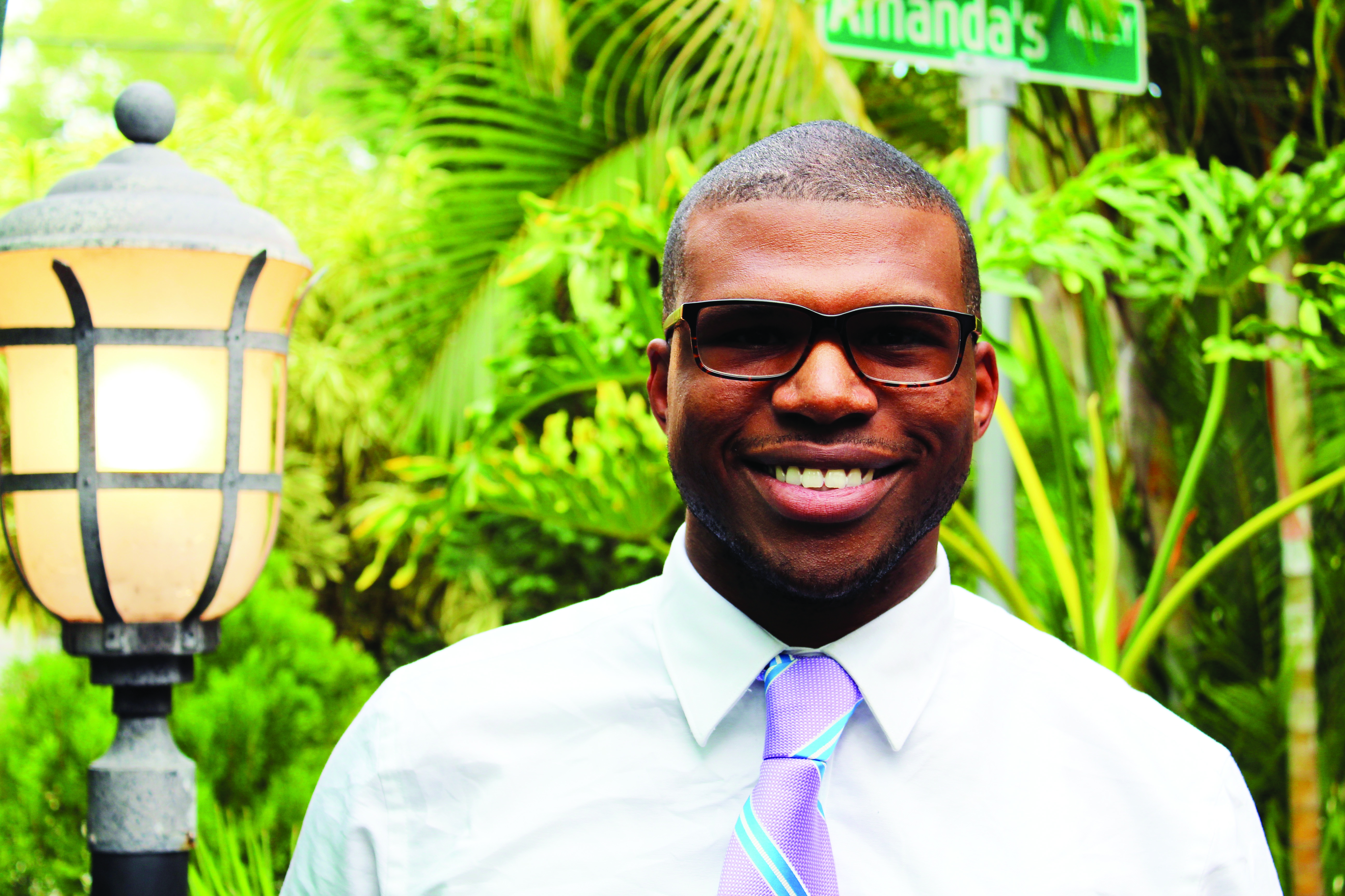 Second Effort: Corey Givens Jr. unsuccessfully ran for a position on the Pinellas County School Board in 2012. He graduated from USF St. Petersburg in 2014 with a bachelor's degree in mass communications. Evy Guerra | The Crow's Nest