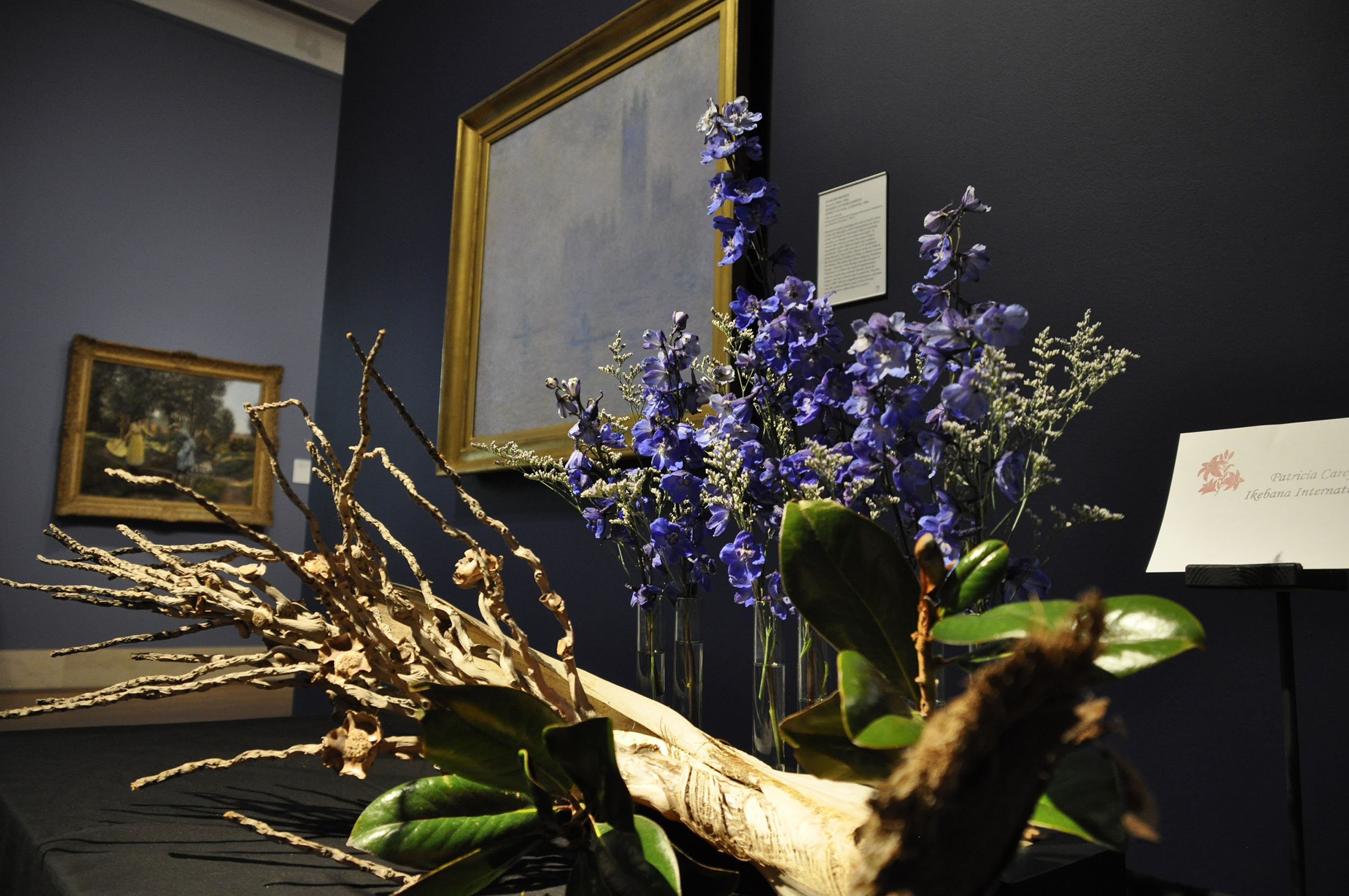 MFA welcomes spring with floral arrangements