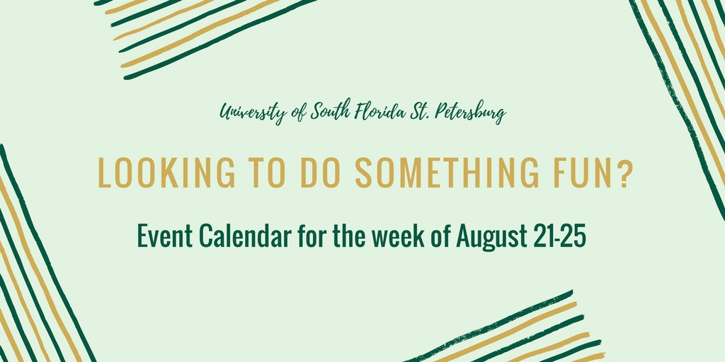 What to do this week: August 21-25