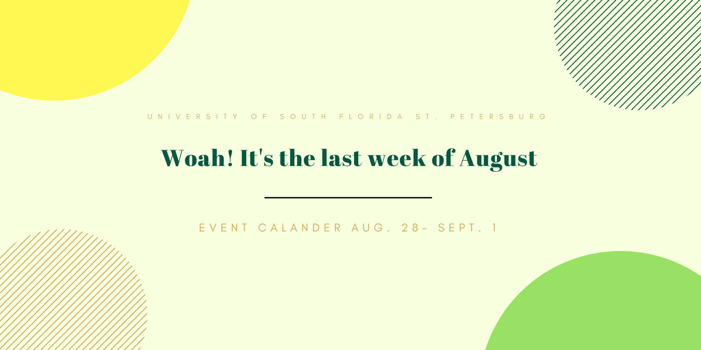 What to do this week: August 26 – Sept. 1