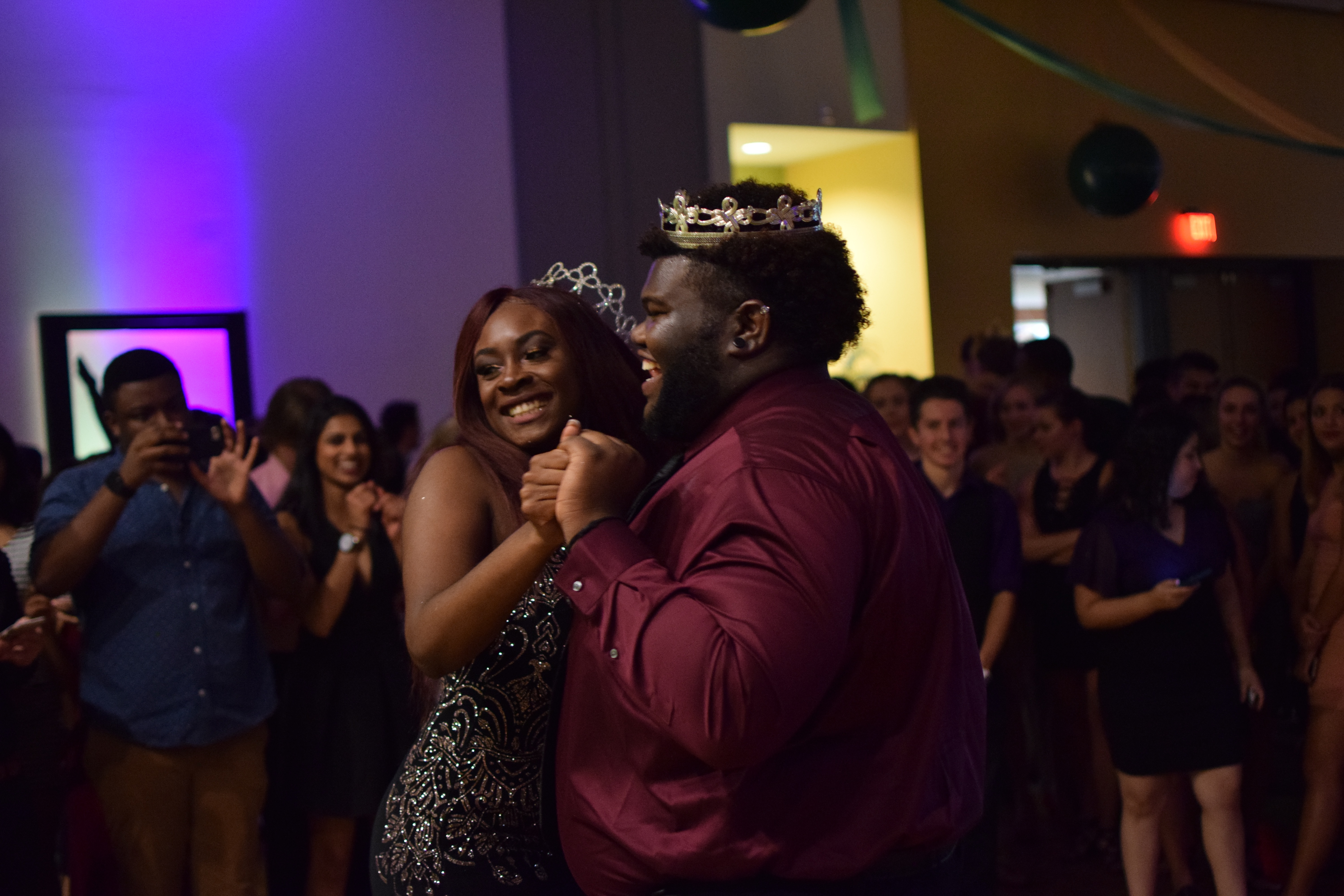 The king and queen have their day: Homecoming 2017