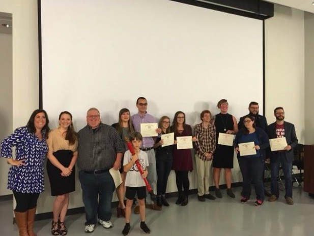 English honor society welcomes new inductees