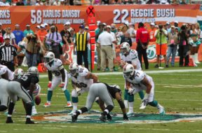 Quarterback Ryan Tannehill of the Miami Dolphins