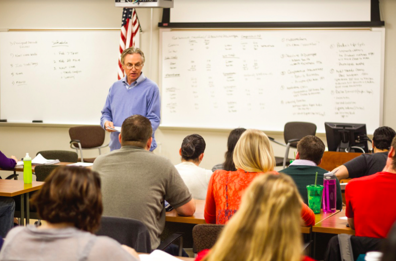 Business professor uses life lessons to help students expand worldview