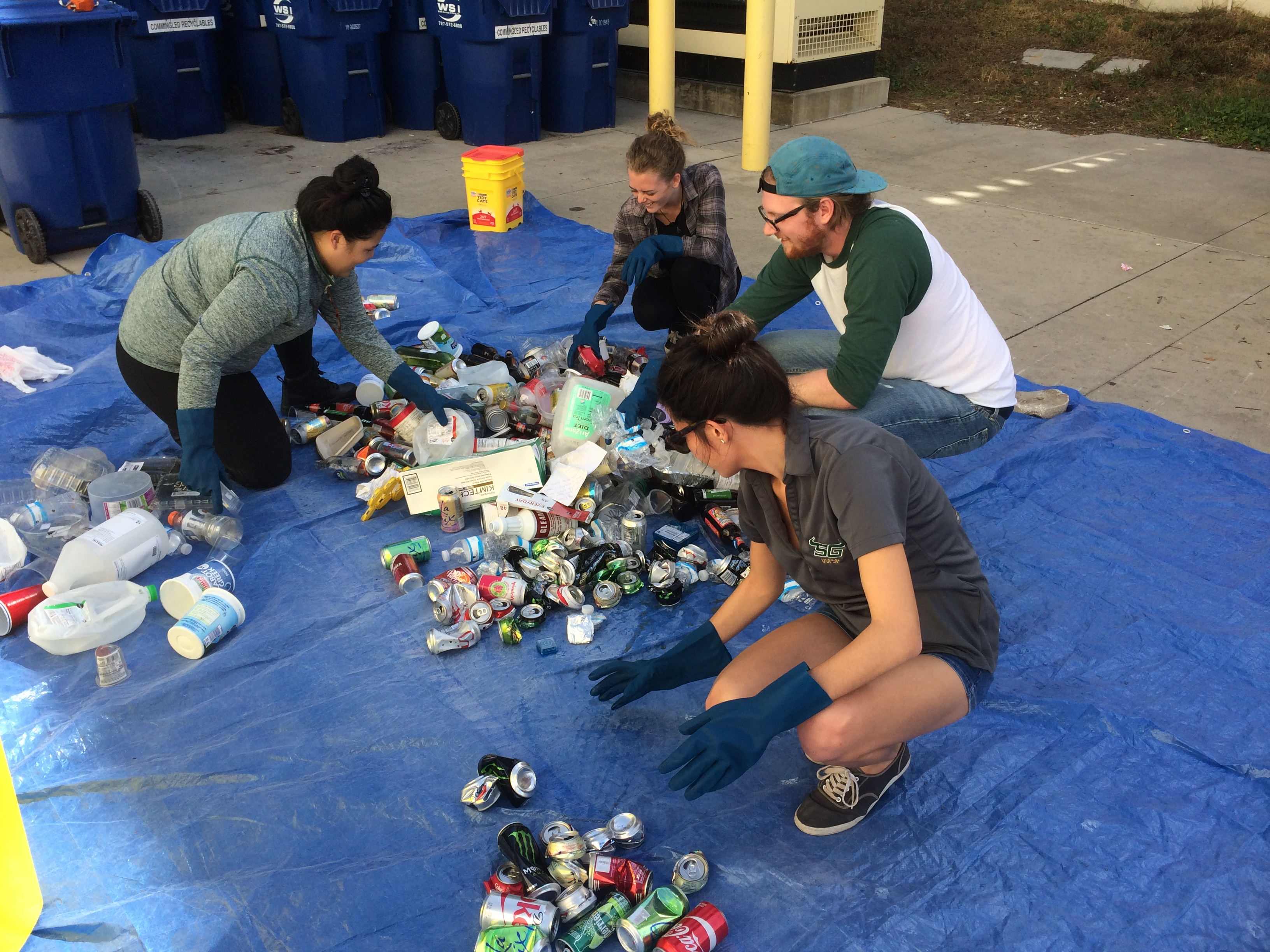 How Student Government plans to address our campus' poor recycling report