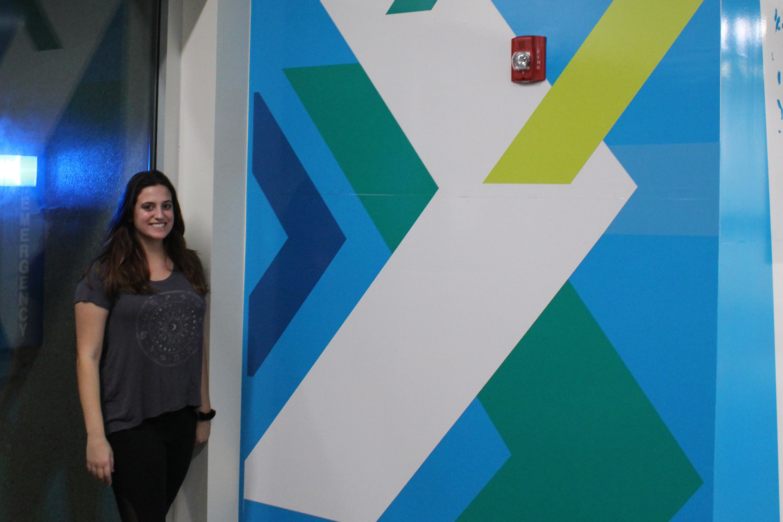 Meet the student who designed The Edge's graphics