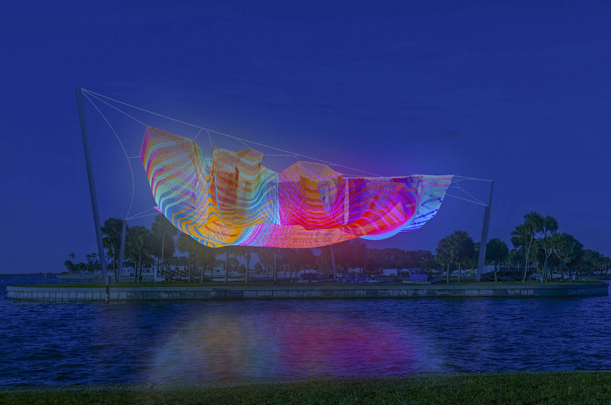 $3 million floating sculpture definitely a priority